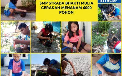 """Workshop Tingkat SMP STRADA dengan Tema """"Gerakan Menanam 6000 Pohon"""""""
